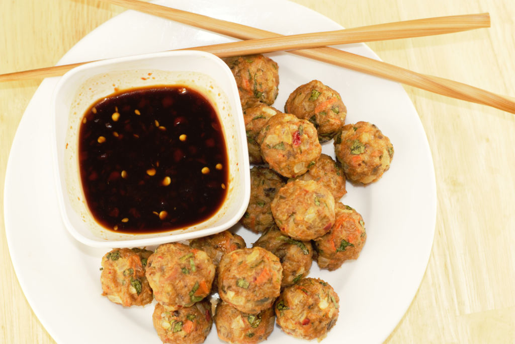 02 Asian Turkey Meatballs