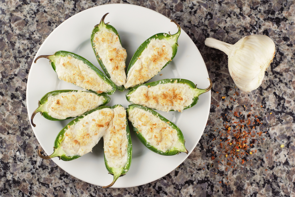 Healthy Jalapeno Poppers