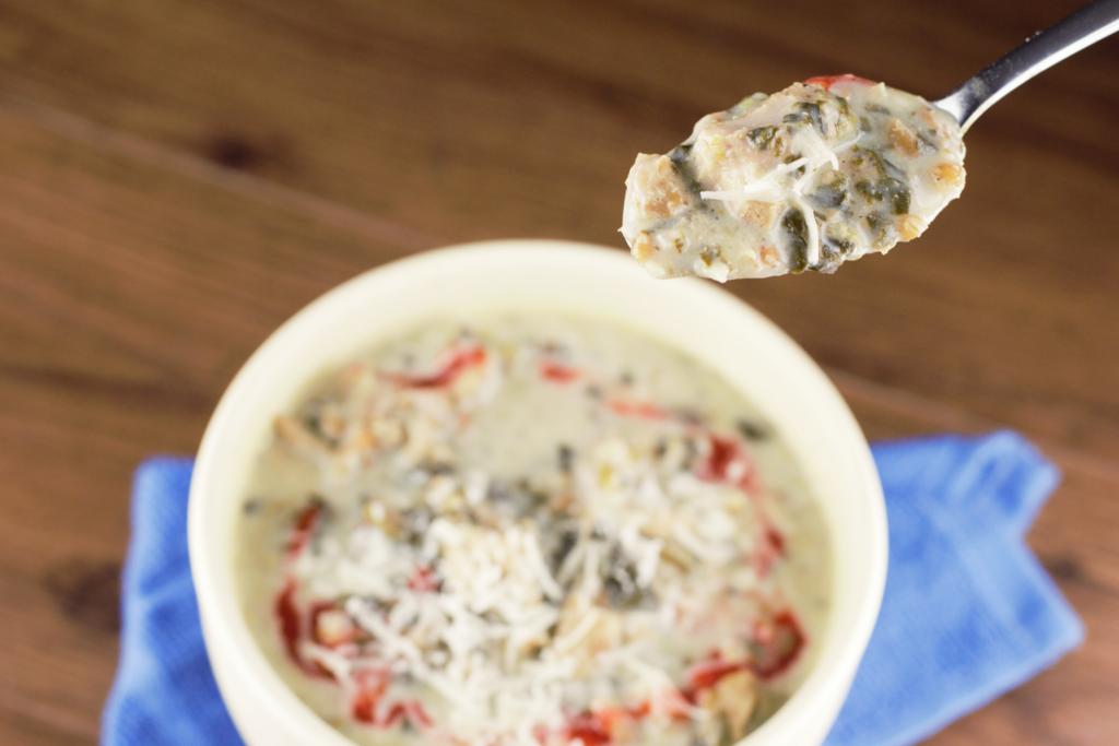 Creamy Chicken Farro Stew