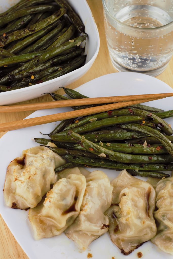 Red Pepper Sesame Green Beans
