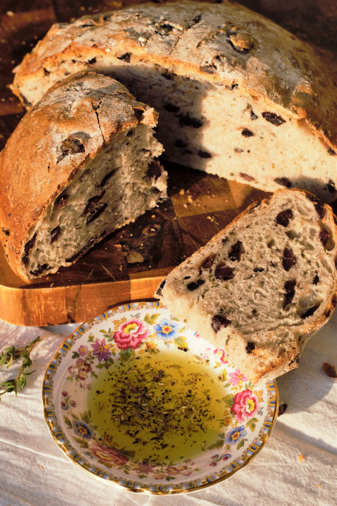 Olive Thyme Bread   Mountain Cravings