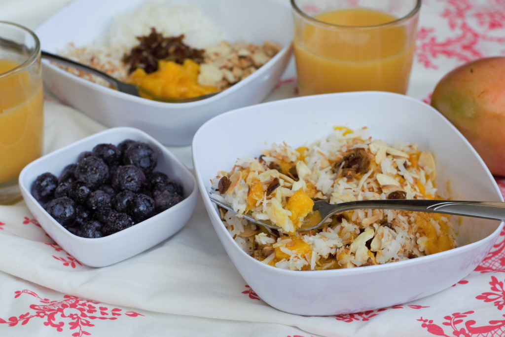 03 Mango Coconut Breakfast Bowls