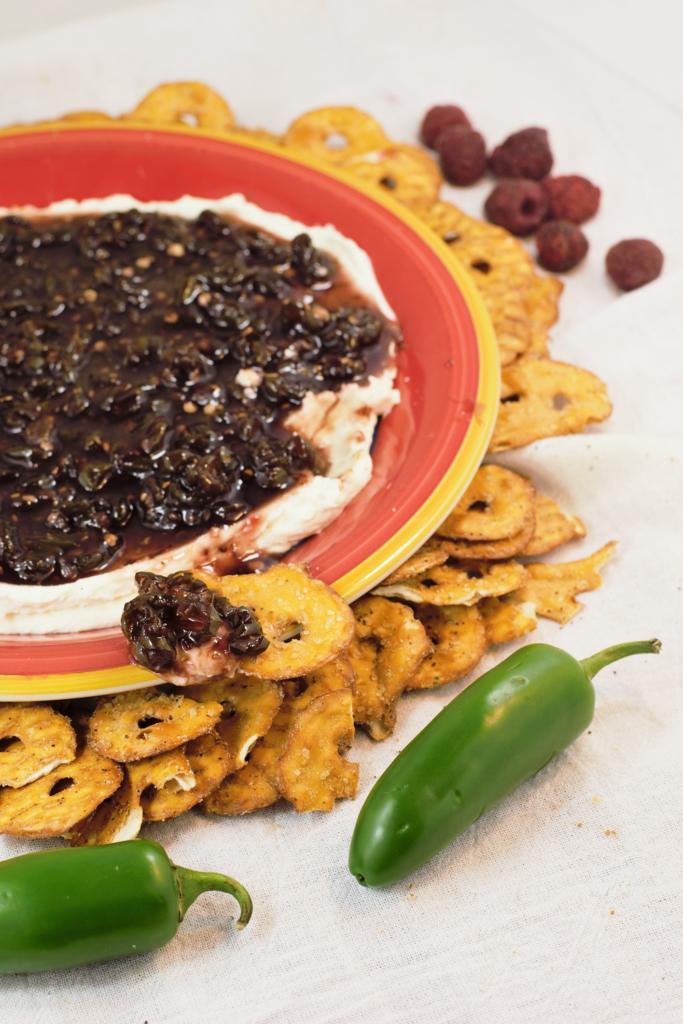 Raspberry-Jalapeño Jam Spread | Mountain Cravings