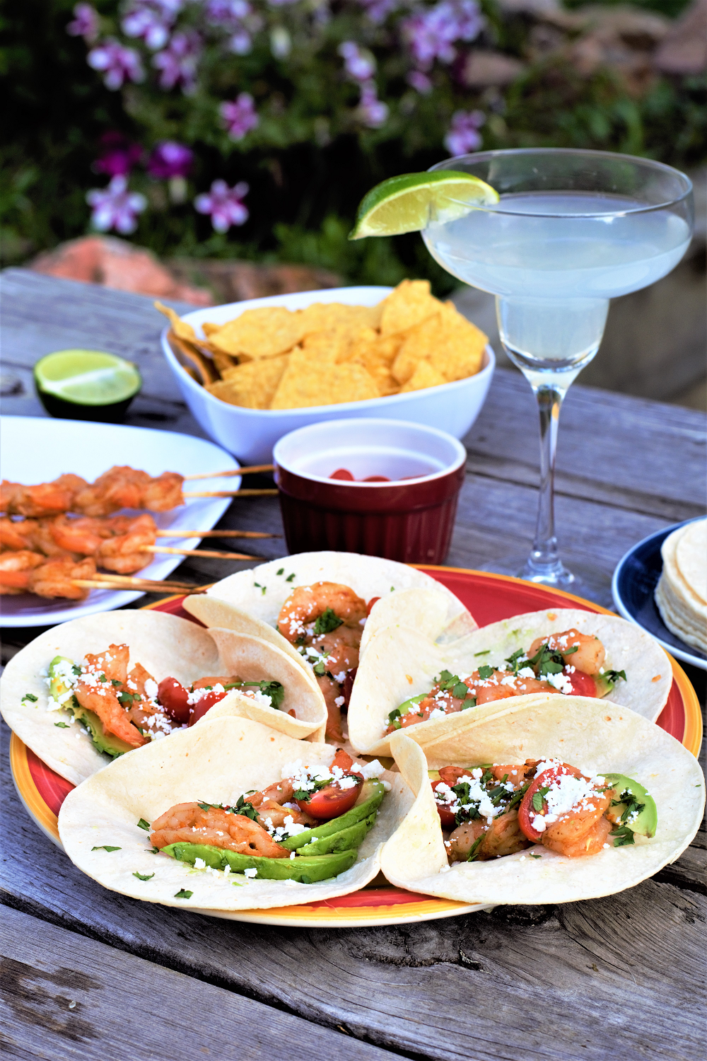 Grilled Tequila Shrimp Tacos | Mountain Cravings