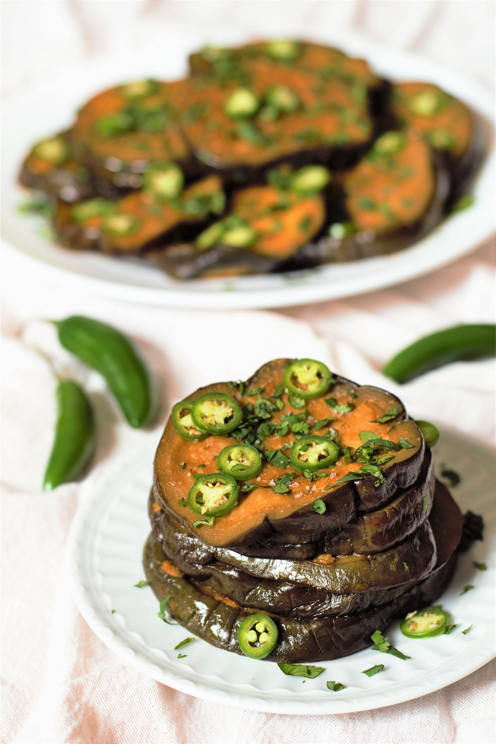 Sous Vide Curried Eggplant | Mountain Cravings
