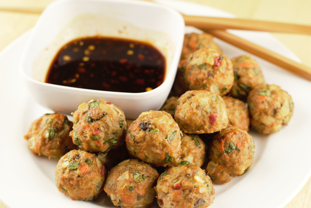 03 Asian Turkey Meatballs