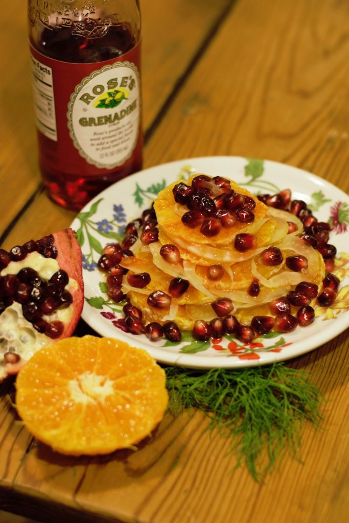 Fennel Pomegranate Orange Salad