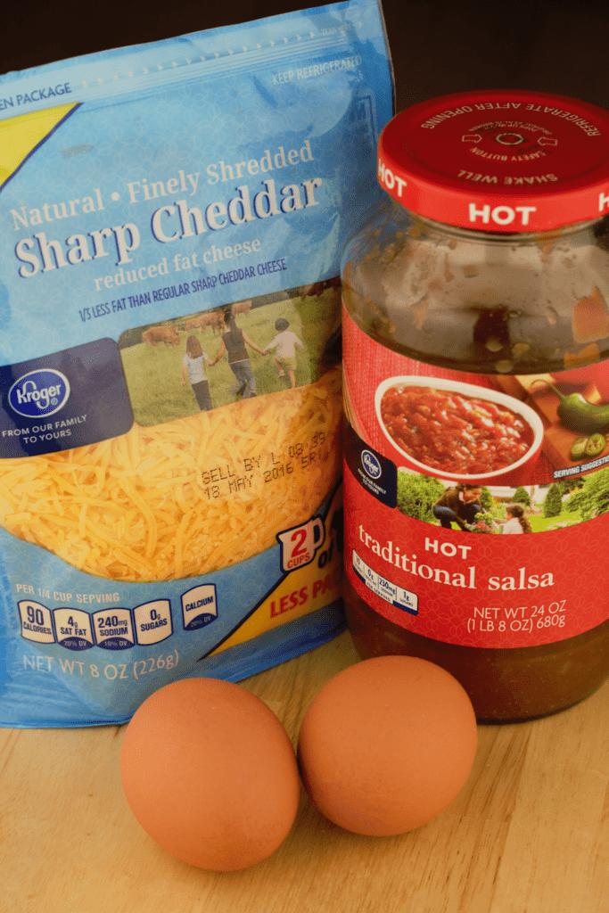 Fluffy Microwave Eggs