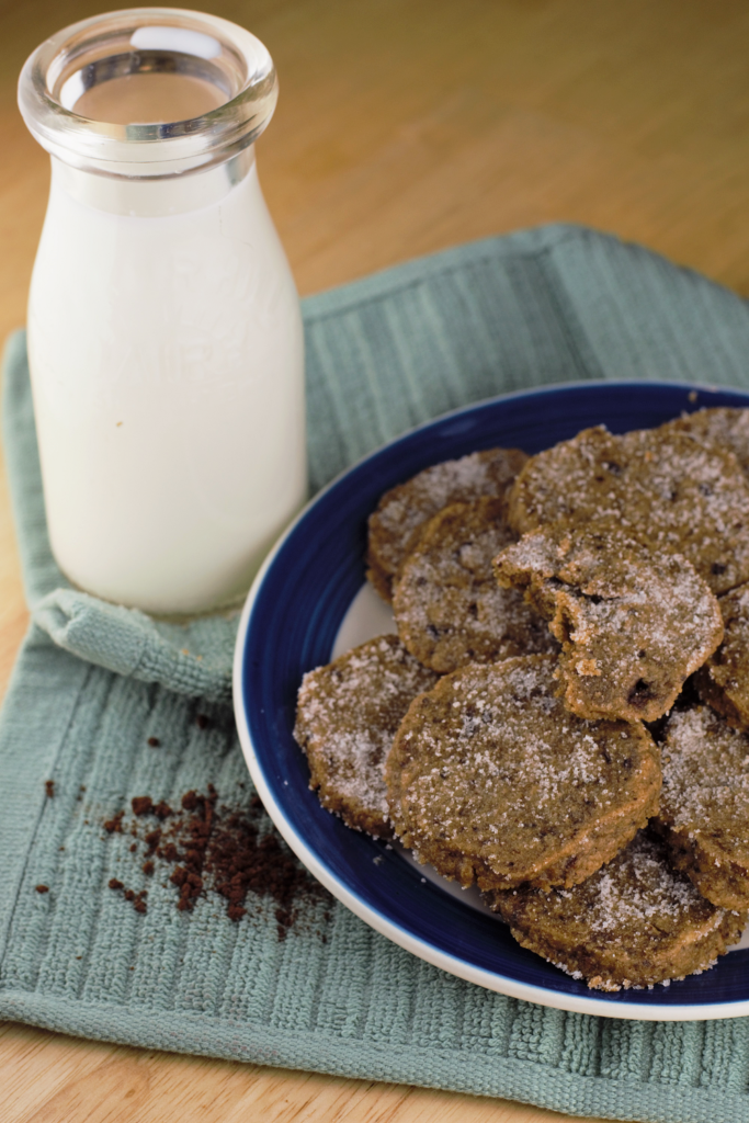 Brown Butter Latte Cookies