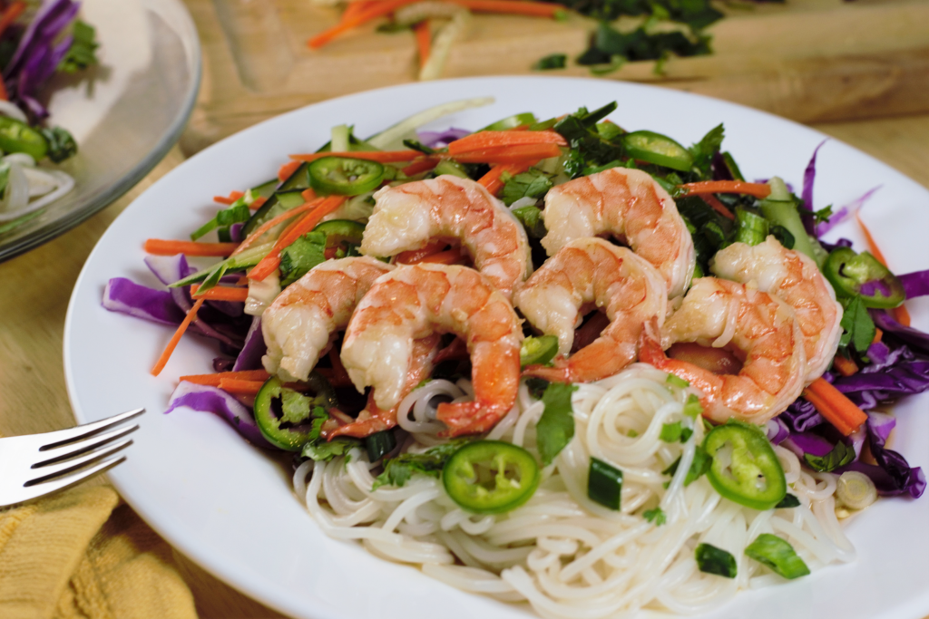 Shrimp Vietnamese Salad