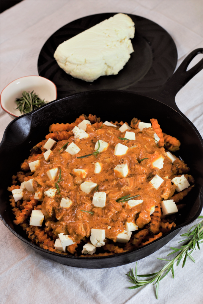 Chicken Tikka Masala Poutine | Mountain Cravings