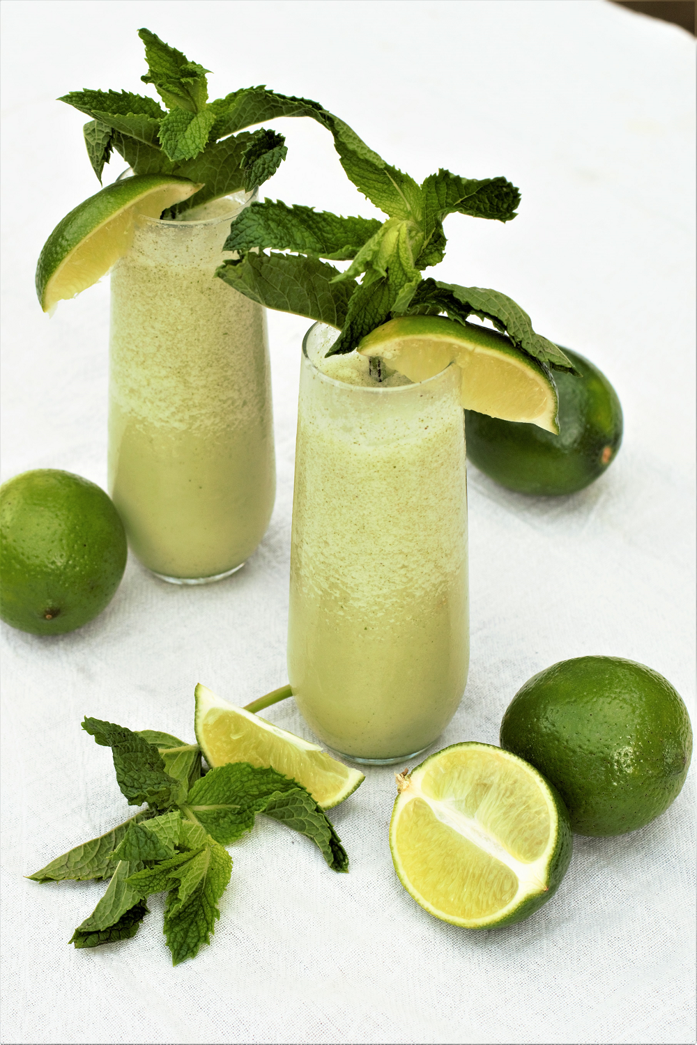 Frozen Coconut Mojitos | Mountain Cravings